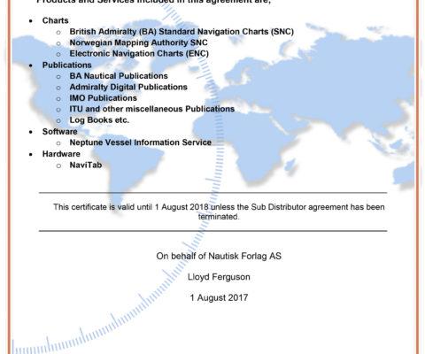 SD Nautisk Certificate